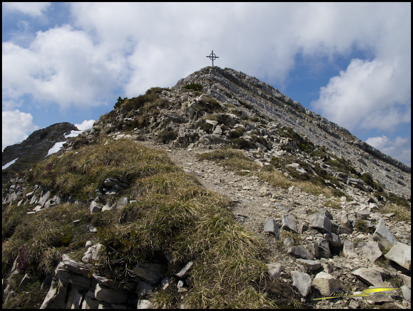 Gipfelkreuz Seekarspitz