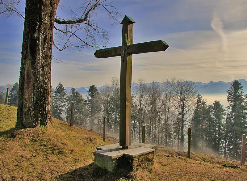 Gipfelkreuz Sonnenberg