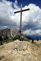Gipfelkreuz Strudelkopf.... Südtirol