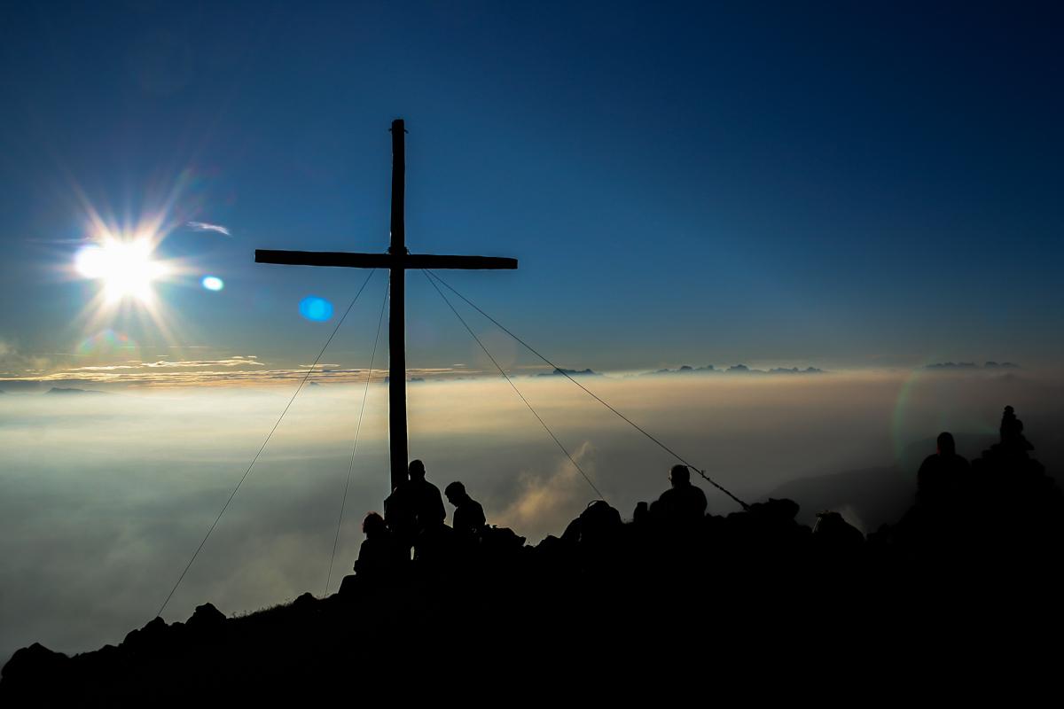Gipfelkreuzglück