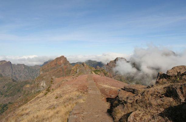 Gipfelweg über Madeira