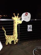 Giraffen am Hafen Münster