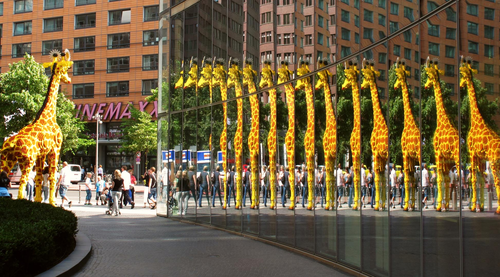 Giraffen.... überall