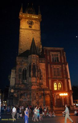 girando di notte a Praga