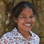 girl at Preah Khan