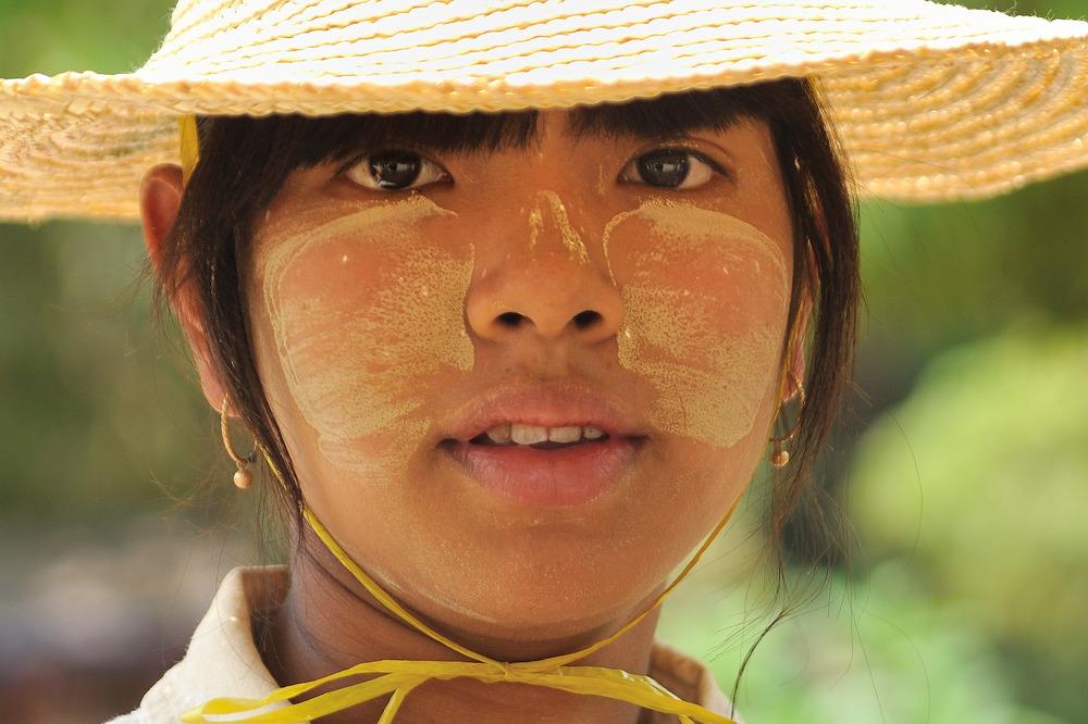 Girl from Bagan