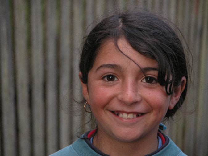 Girl from Chiloe Island Chile