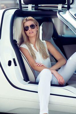 Girl in a Car
