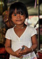 Girl in Kandal Market 1