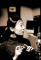 Girl mit Kamera