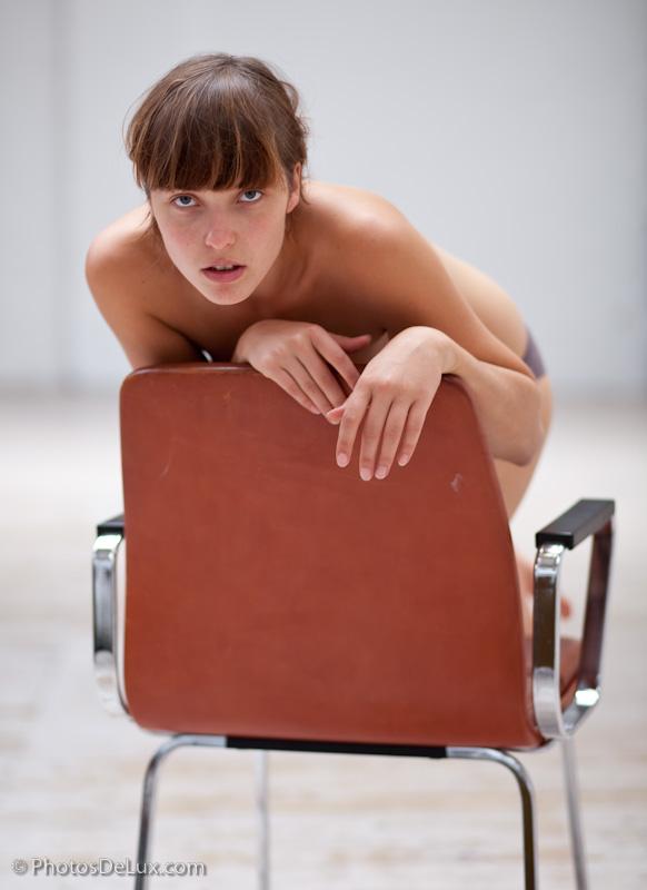 Girl on Chair 2