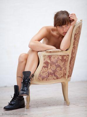 Girl on Chair 3