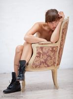 Girl on Chair 3