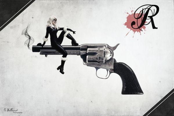 Girl on Revolver