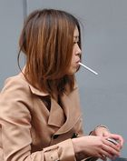 Girl with cigarette