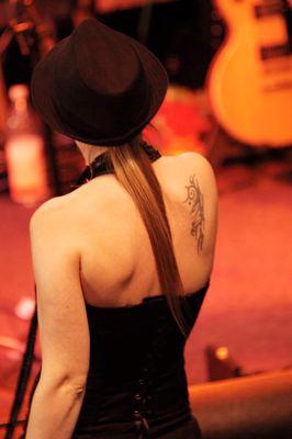 Girl with Tatoo