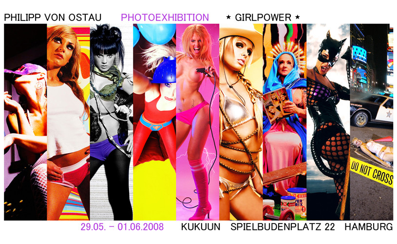 *GIRLPOWER* Ausstellung Hamburg 29.05-01.06.2008