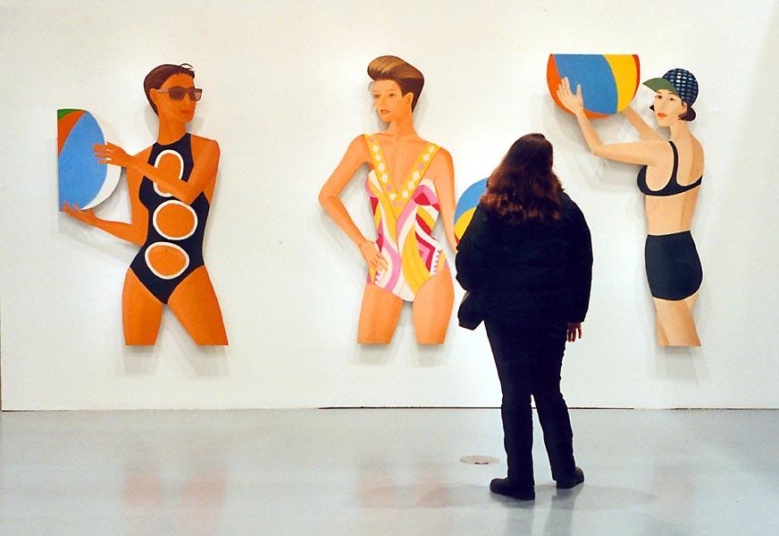 Girls, gemalt und real