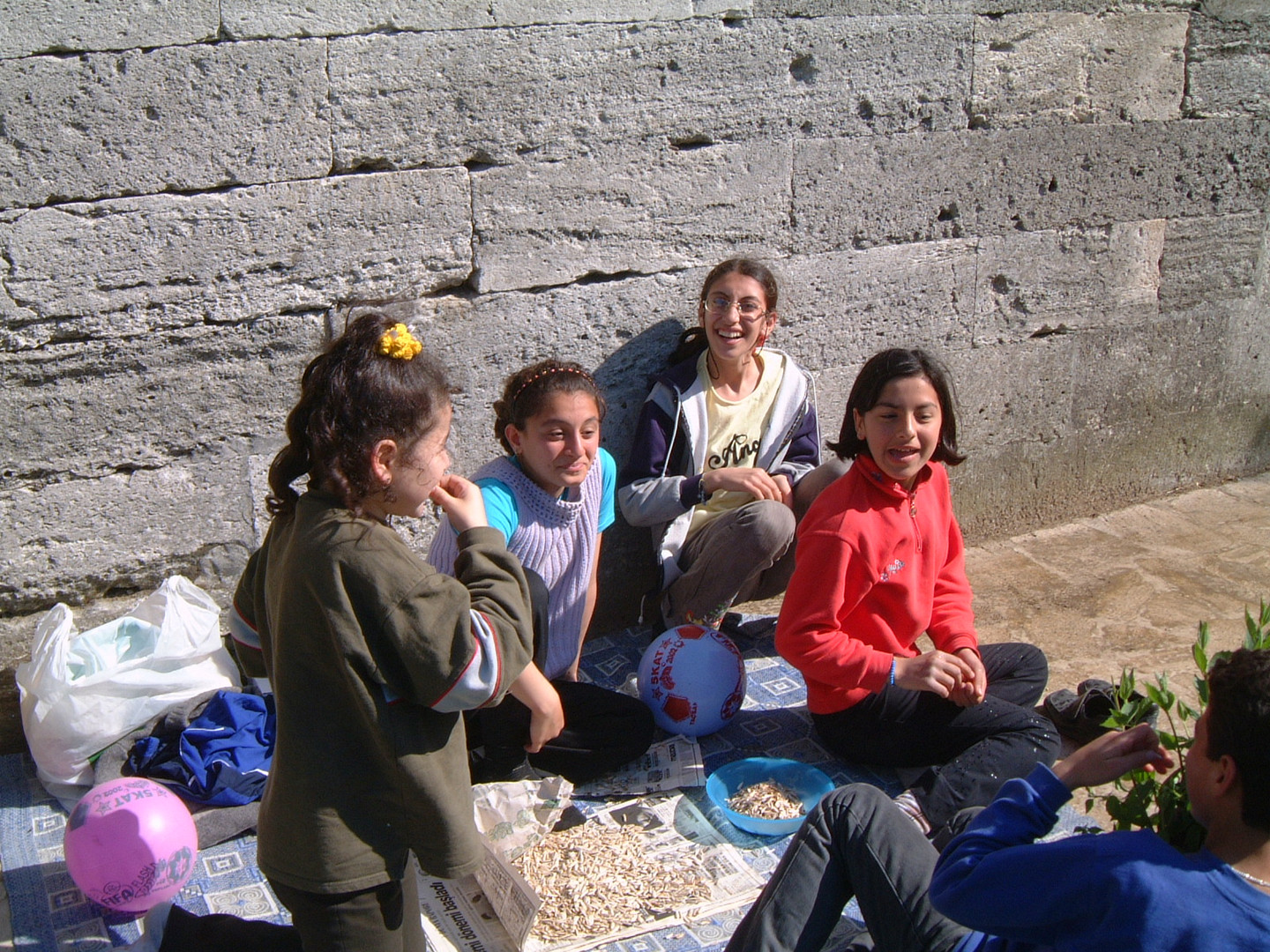 Girls Group near Süleyman Mosque