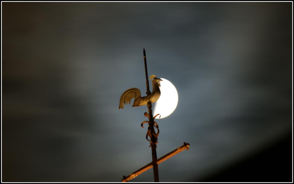 Girouette granvillaise de nuit