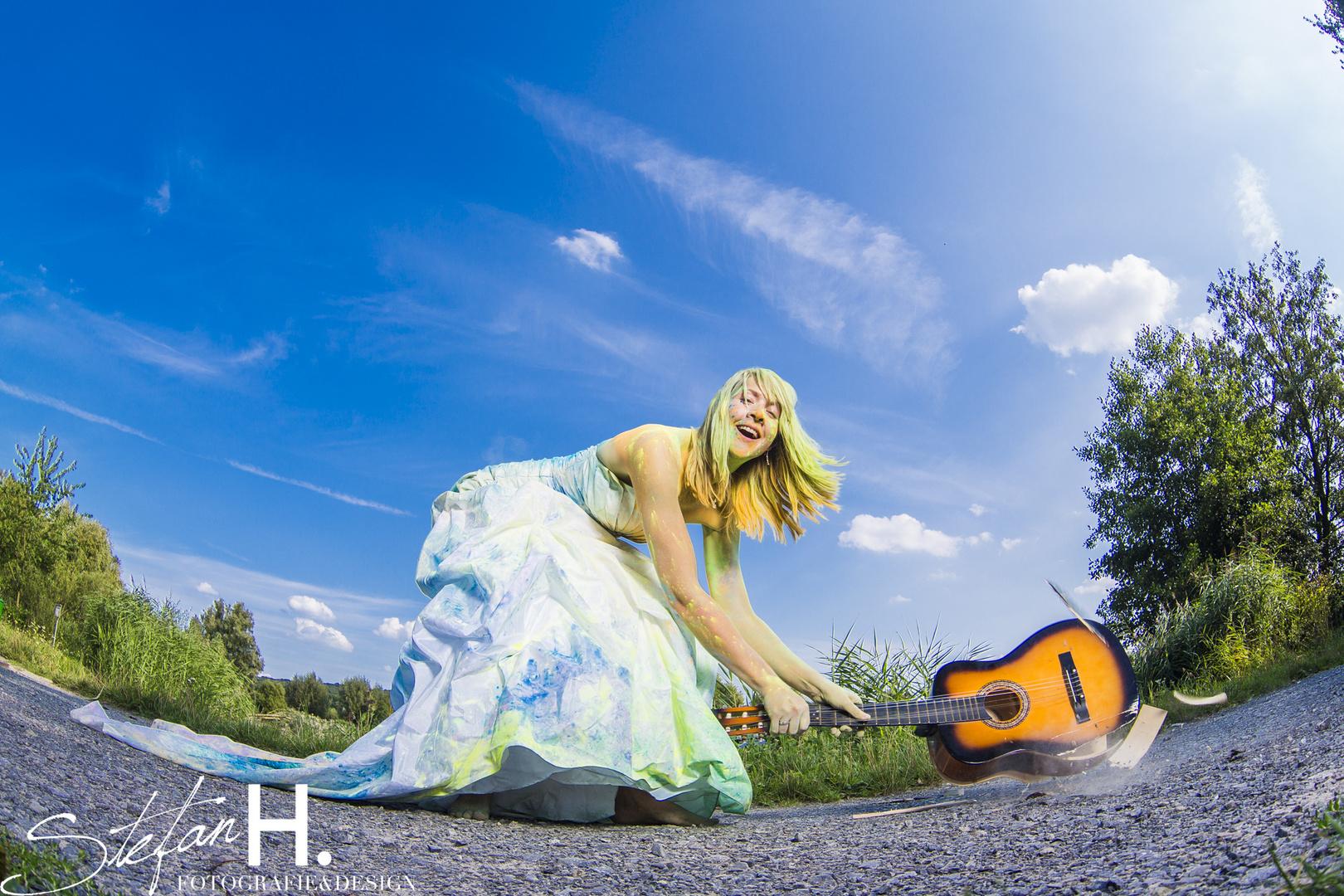 Gitarre defekt :-)