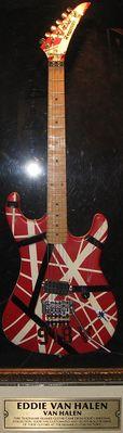 Gitarre von Eddie Van Halen