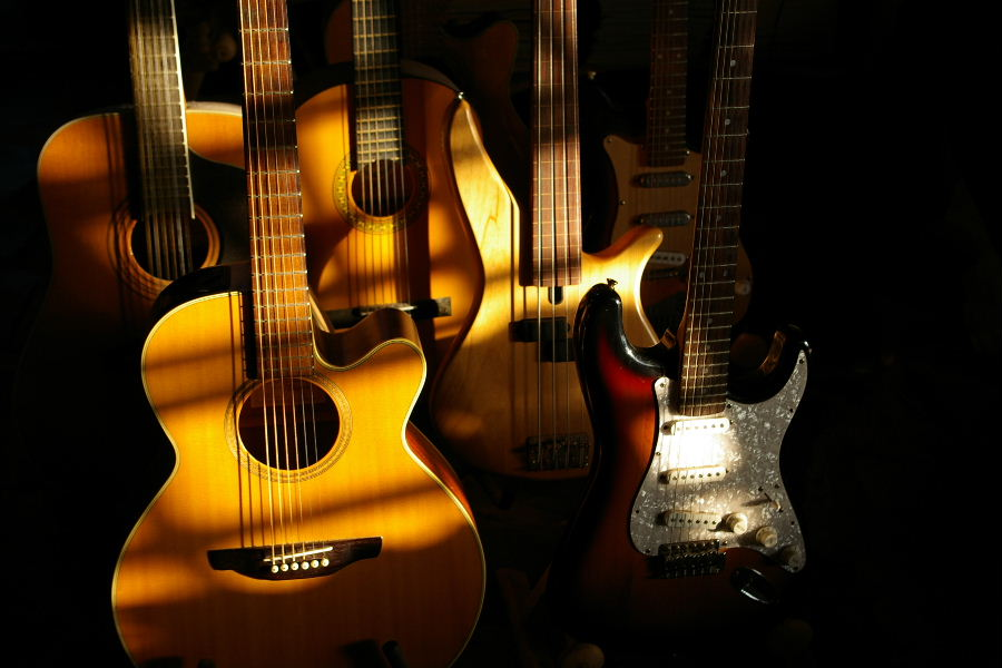 Gitarren...