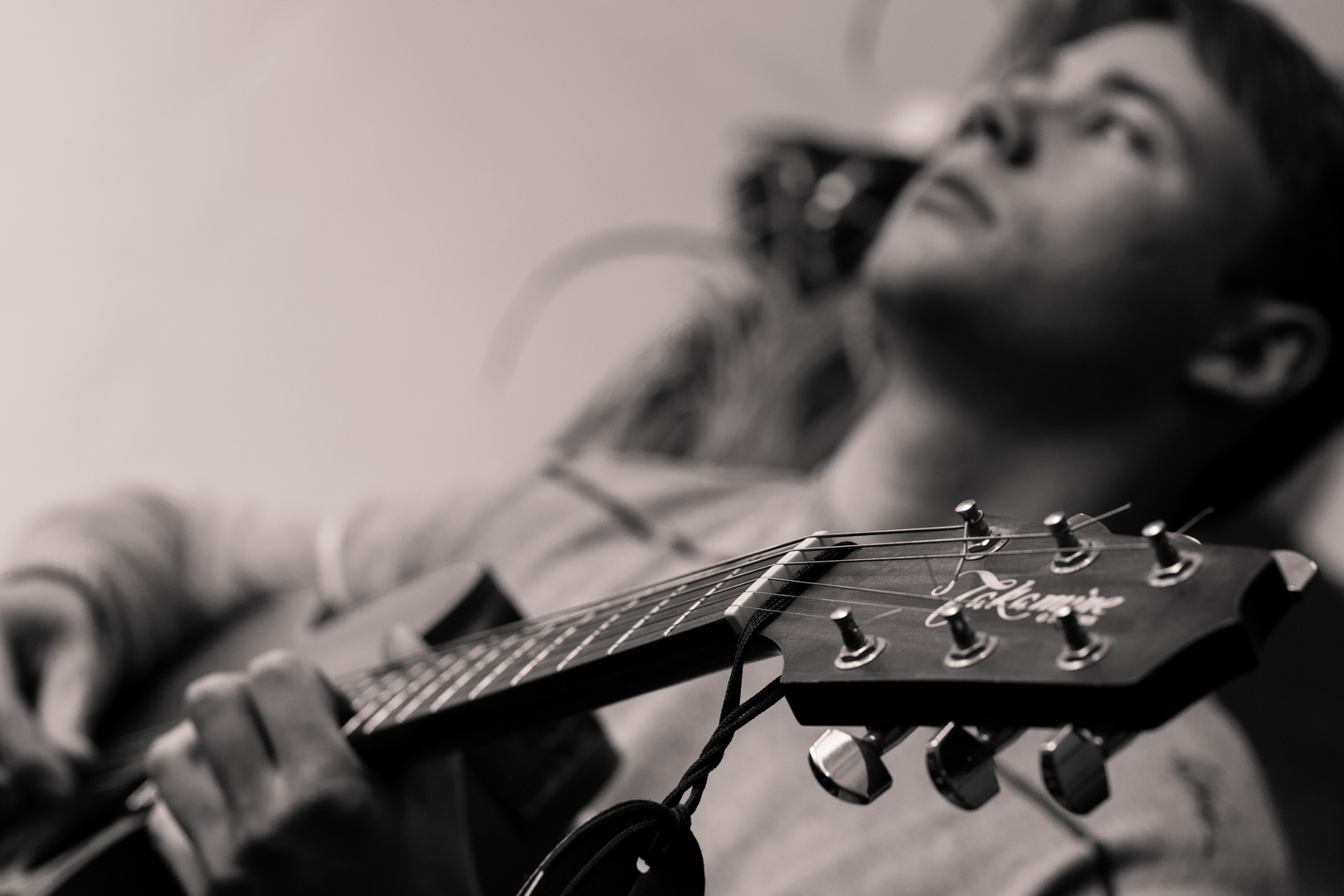 Gitarrenstunde mit Julian :-)