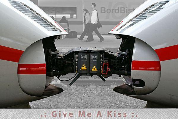 .: Give Me A Kiss :.