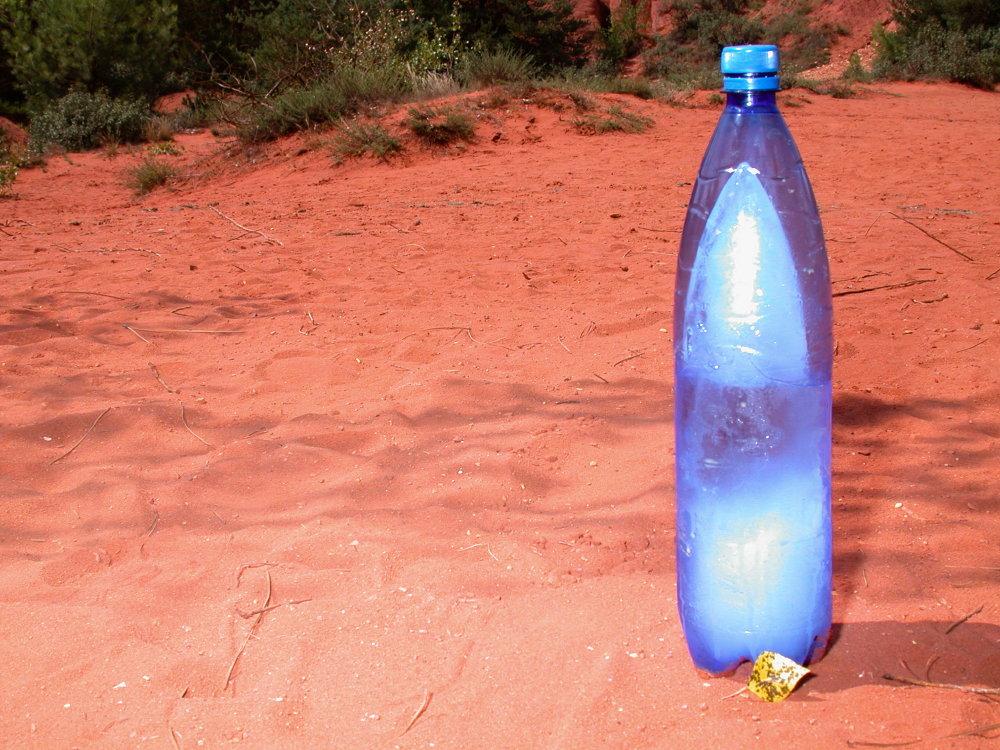 Glace en Sahara