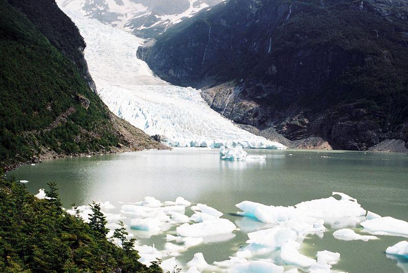 glacera serrano (xile)