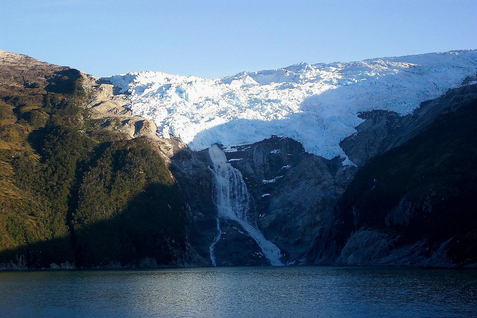 Glaciar en el Canal de Beagle