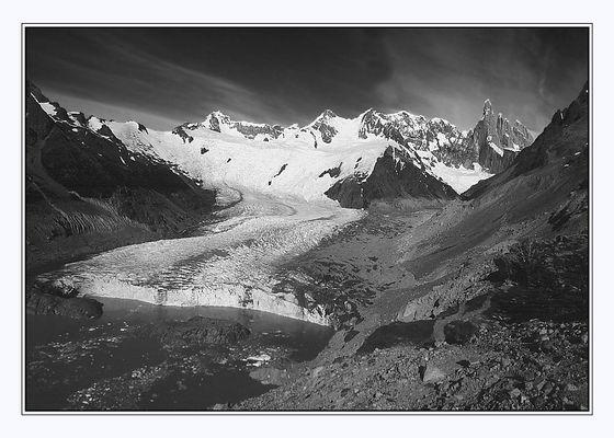 Glaciar y Cerro Torre