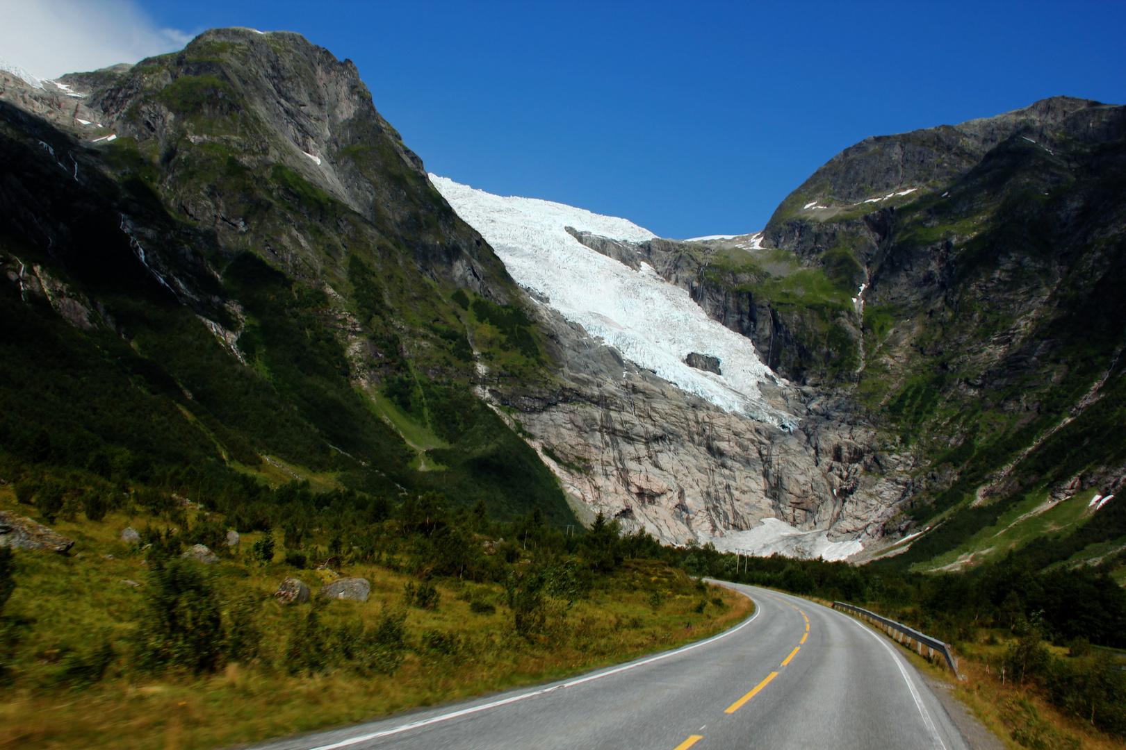 Glacier...