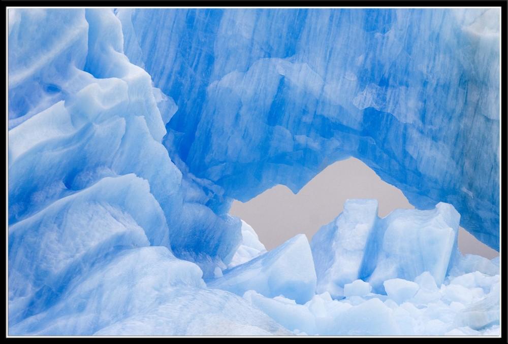 Glacier dans les Andes (Argentine)