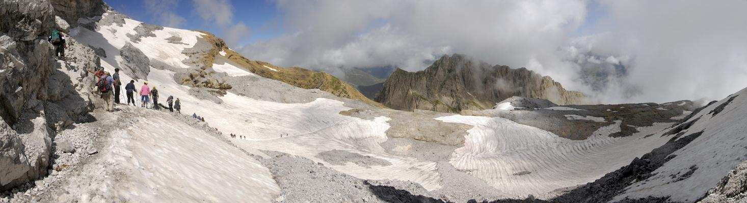 glacier de la brèche de Roland