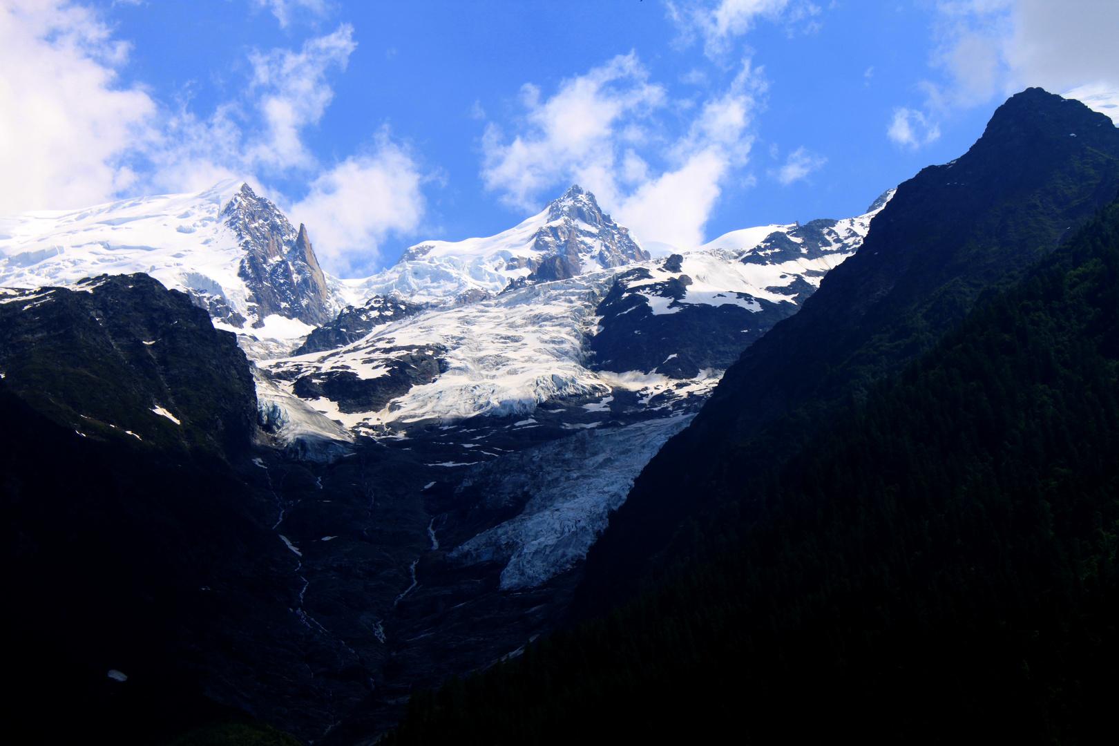 Glacier de Tacconaz Vallee de Chamonix Cor