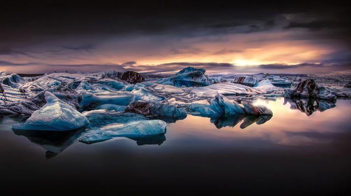 Glacier Lagoon Jökulsárlón Iceland