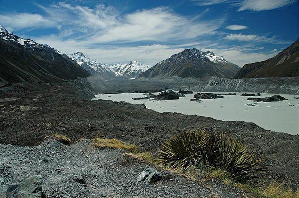 Glacier of Mount Aoraki