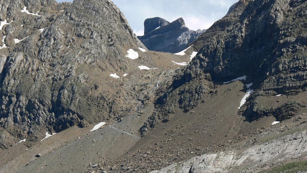 Glacier Taillon. Pyrénée 0707