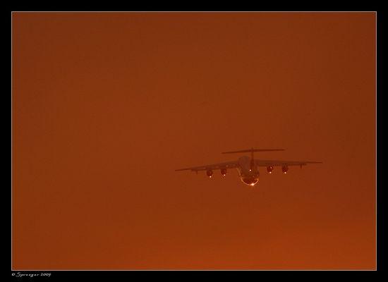 Gläsernes Flugzeug