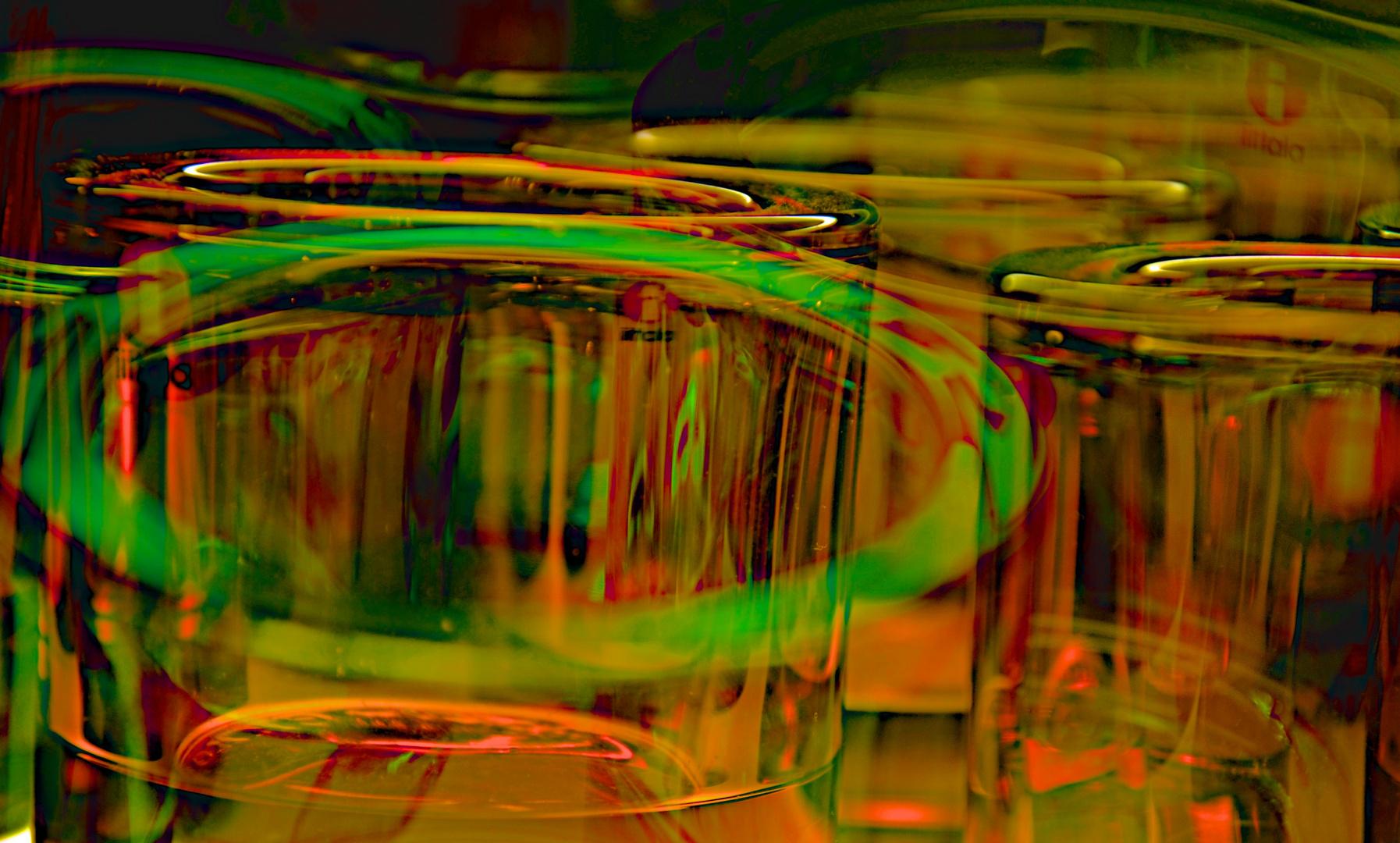 Gläsernes Rund