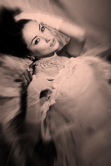 Glamour-Braut