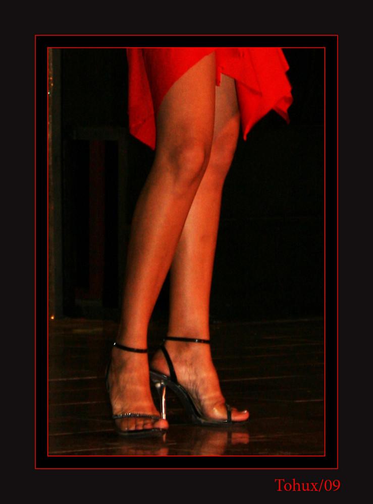 Glamour en rojo