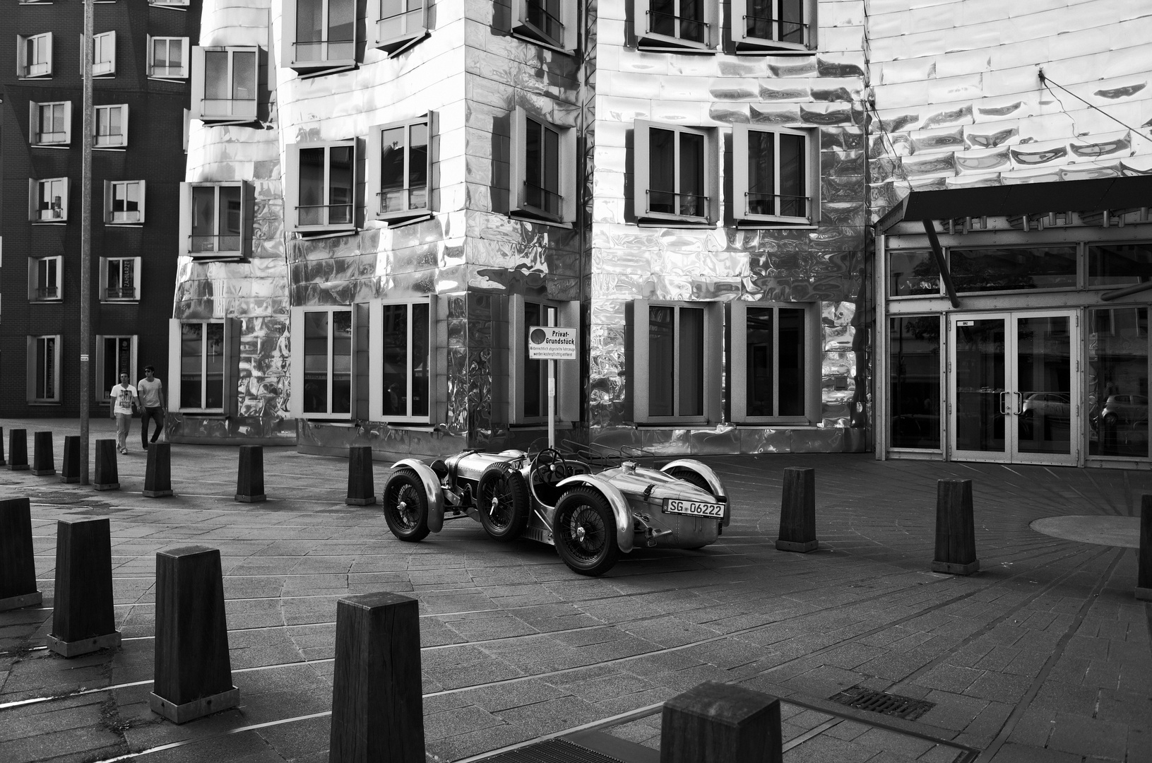 Glanzvoller Auftritt...... der perfekte Parkplatz !