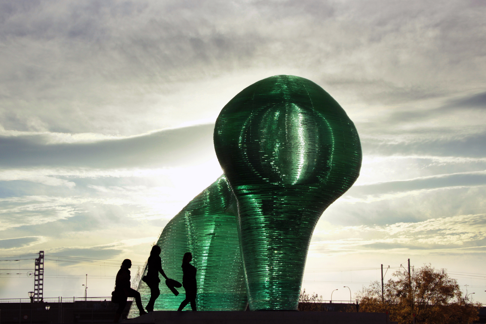 Glas-Alien in Venlo