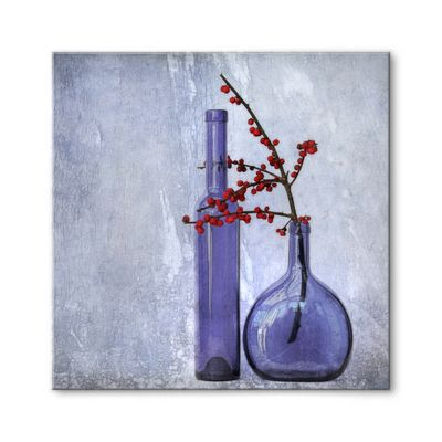 GLAS-ART IN BLAU