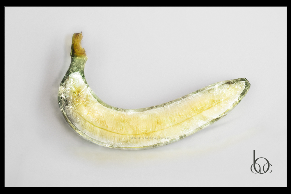 Glas Banane