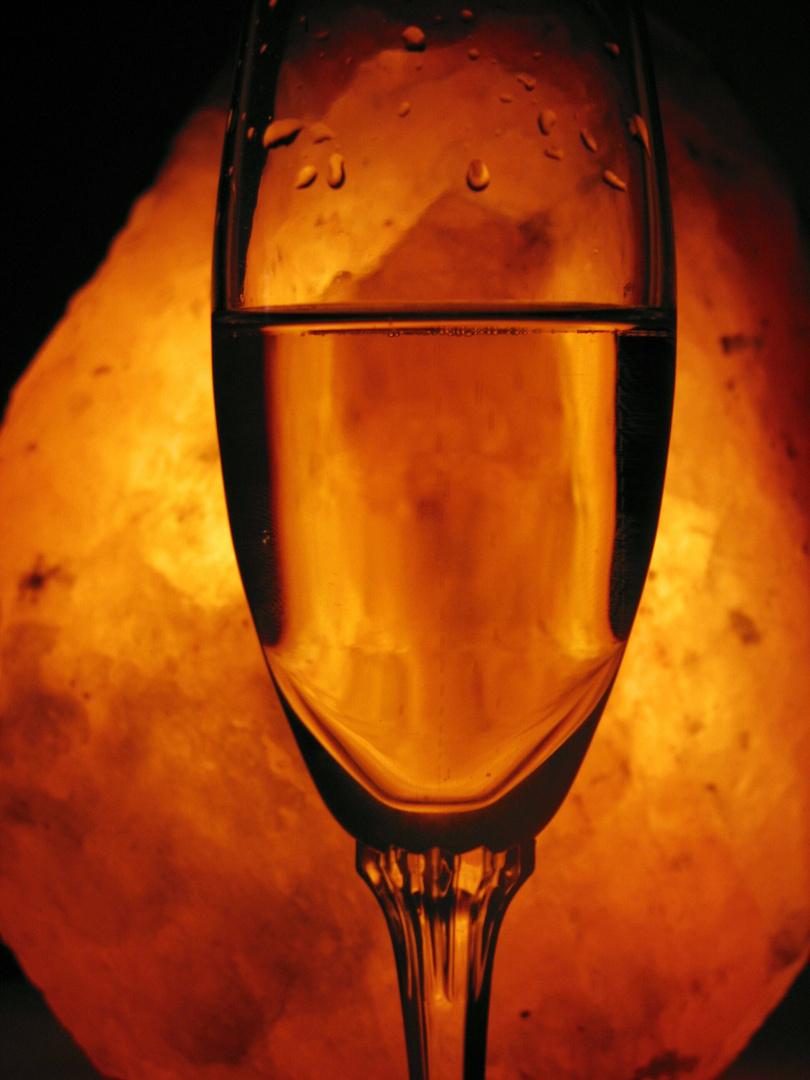 Glas im Licht