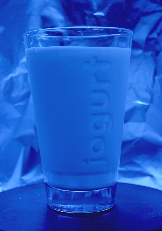 glas of jogurt